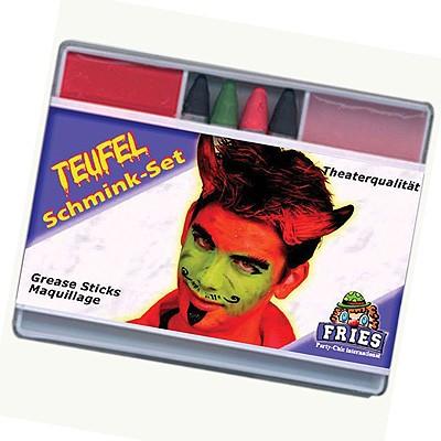 Schminke Schminkset Teufel Fries Motto Party Karneval Theater