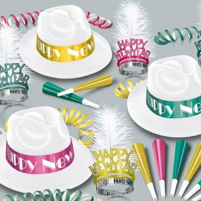 Silvester-Party-Set Miami Nites