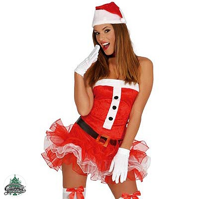 Weihnachtsfrau Kostüm S