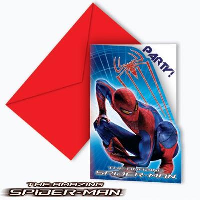 Einladungskarten The Amazing Spiderman