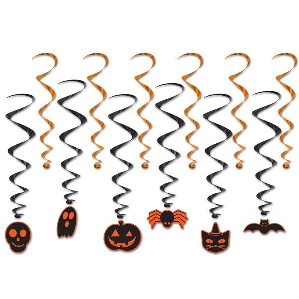 Halloween Spiralhänger