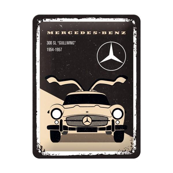 Blechschild Mercedes Flügeltürer