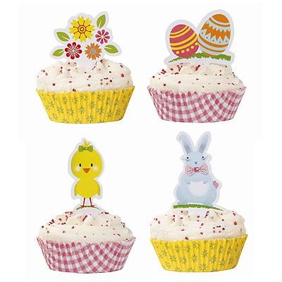 Cup Cake Muffin Set Ostern