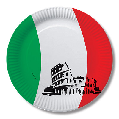 Italien Partydekorationen Und Zubehor Fur Die Italienische Feier