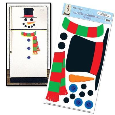 Kühlschrankdeko Create A Snowman