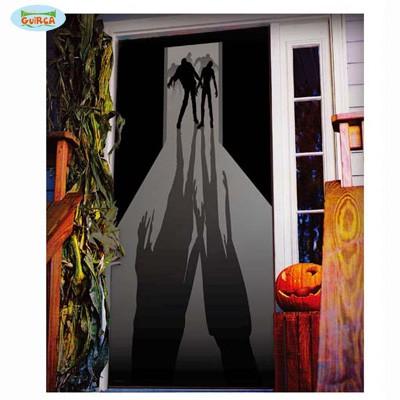 Türposter Wanddeko Zombieschatten