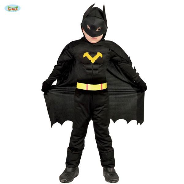 Kinderkostüm Dunkler Superheld 10-12 Jahre