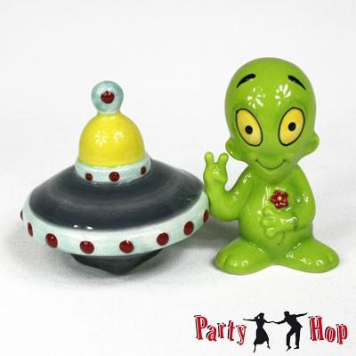 Salz- und Pfefferstreuer Alien