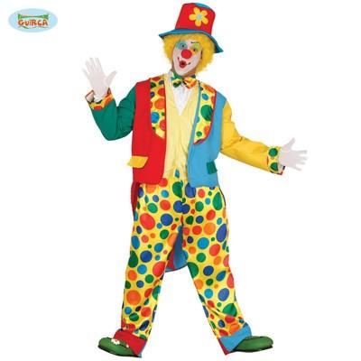 Clown Kostum Bunter Anzug Mit Hut Karneval Fasching Zirkus