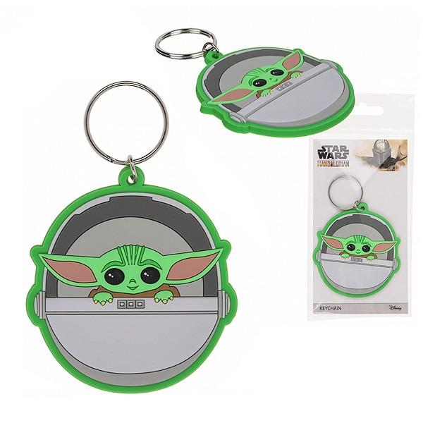 Schlüsselanhänger Baby Yoda Grogu