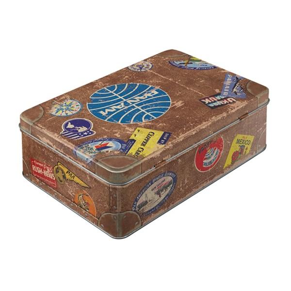 Vorratsdose Pan Am Reisekoffer