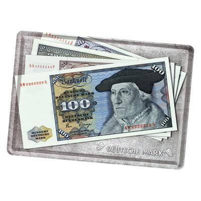 Blechpostkarte Deutsche Mark