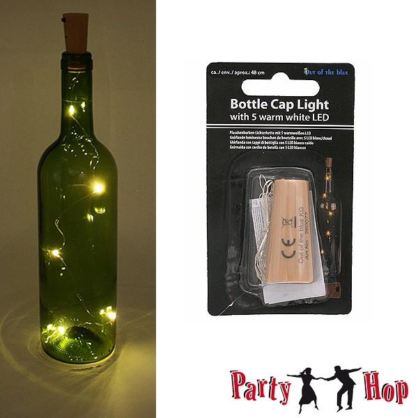Flaschen-Korken-Lichterkette
