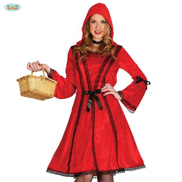 Kostümkleid Rotkäppchen Schleifen M