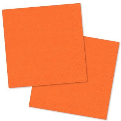 Papierservietten orange 30er