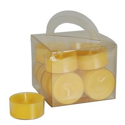 Teelichter honiggelb 12 Stück