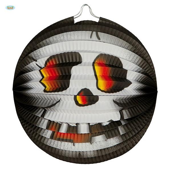 Halloweendeko Lampion Totenkopf