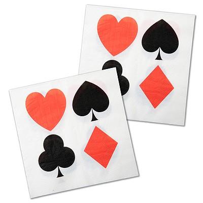 Servietten Casino