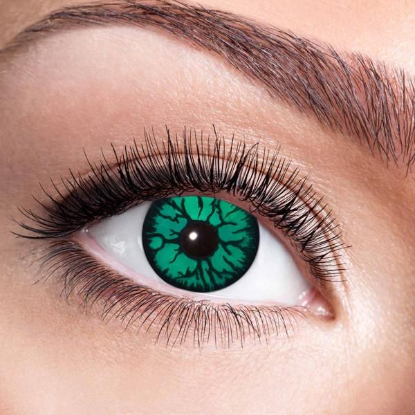 Kontaktlinsen ohne Stärke Monster