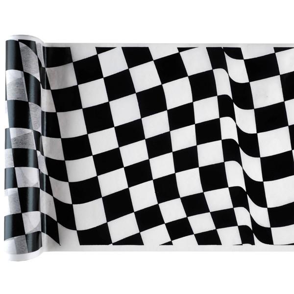 Tischläufer Racing Zielflagge