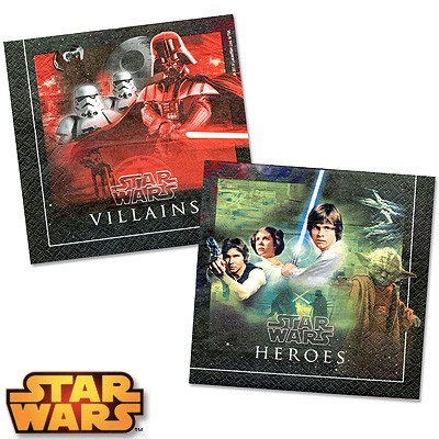 Servietten Star Wars Heroes