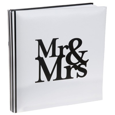 Gästebuch Mr Mrs