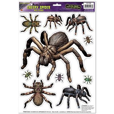 Deko-Haftbilder Spinnen